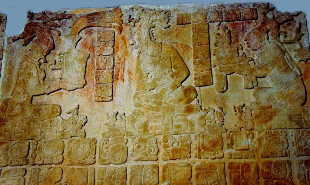 Palenque Tablero del Palacio Casa A-D el Palacio