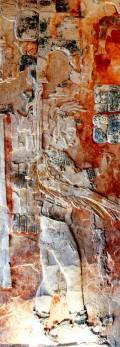 Tikal Museum Tempel XIX Stuckrelief 2
