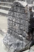 Uxmal Thron