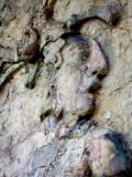 Tikal Palast der Inschriften Pakals Sohn Stuckrelief Detail